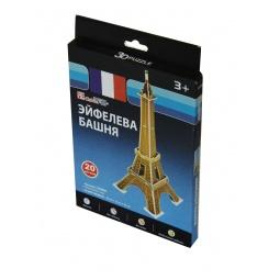 Купить Пазл 3D CubicFun «Эйфелева башня» (мини серия)