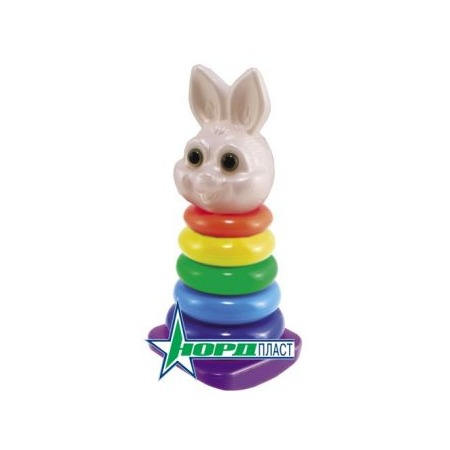 Купить Игрушка-пирамидка Нордпласт «Кролик» 06373