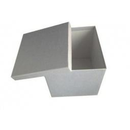 фото Коробка подарочная Феникс-Презент «Серебряный». Размер: XL (20х20 см). Высота: 21 см