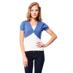 фото Болеро Mondigo 9430. Цвет: джинсовый. Размер одежды: 42