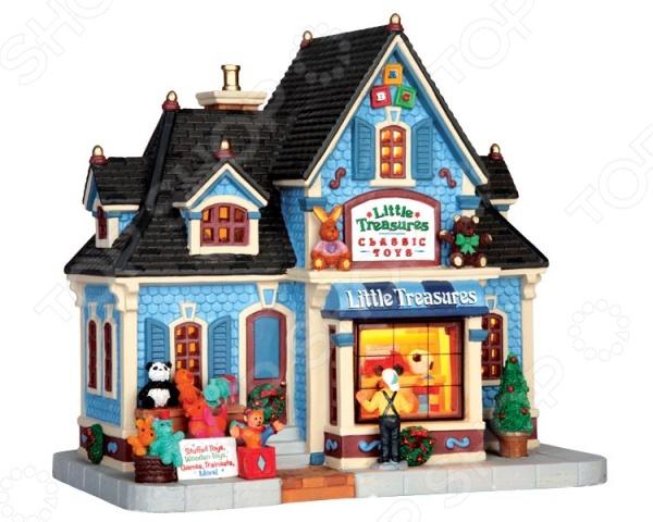 Домик керамический Lemax «Магазин игрушек: Маленькие сокровища» маленькие разбойники