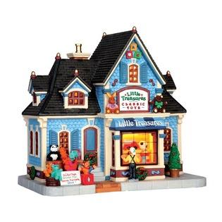Купить Домик керамический Lemax «Магазин игрушек: Маленькие сокровища»