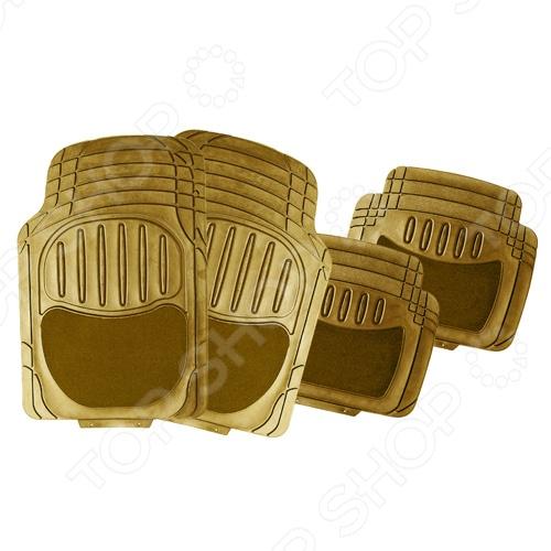 Набор ковриков Автостоп AB-2001 прекрасно защитят салон вашего автомобиля от случайно вылитых жидкостей и загрязнений в любое время года. Они изготовлены из мягкого, легкого и эластичного материала и не имеют запаха. Кроме того, качественные оригинальные коврики обеспечат комфорт ногам водителя и пассажиров. В набор входят 4 резиновых коврика размером 72х48 см и 48х43 см.