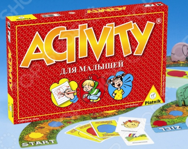 Игра настольная Piatnik Activity Kinder электро скороварка good blessing home yp40d 2l 2 5l