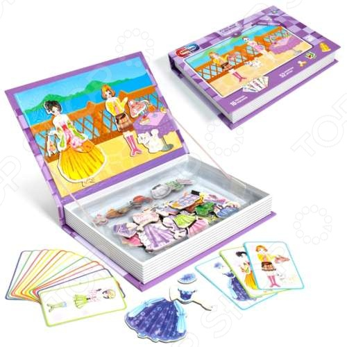 Набор игровой на магнитах 1 Toy «Фэшн-Резорт»