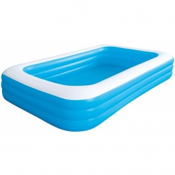 фото Бассейн надувной Jilong Giant Rectangular Pool 3-ring JL016014-1NPF