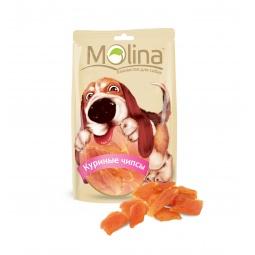 Купить Лакомство для собак Molina 0696 «Куриные чипсы»