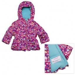 Купить Куртка утепленная с капюшоном Amy Byer Цветочек-pink