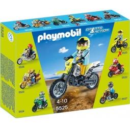 фото Конструктор игровой Playmobil «Коллекция мотоциклов: Мотокросс»