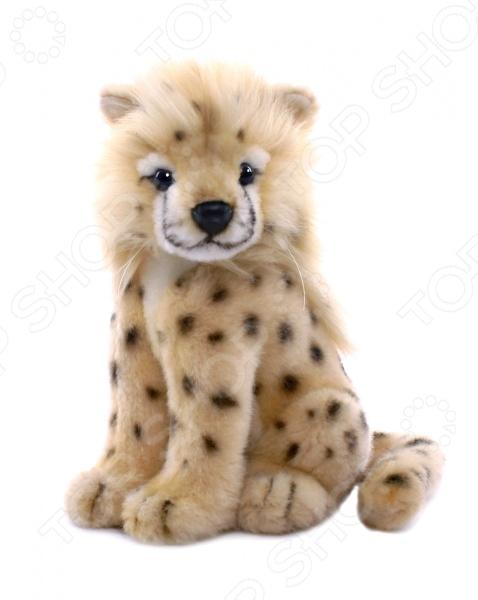 Мягкая игрушка Hansa «Детеныш гепарда» у кого какой детеныш книжка игрушка