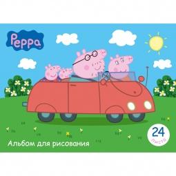 фото Альбом для рисования Росмэн «Свинка Пеппа»