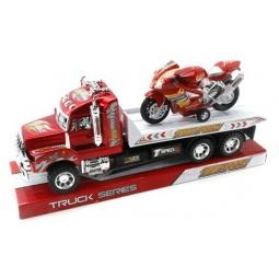 фото Набор машинок инерционных Shantou Gepai «Трак с мотоциклом»