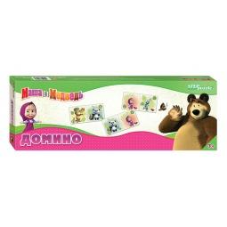 фото Домино детское Step Puzzle 80116 «Маша и Медведь»
