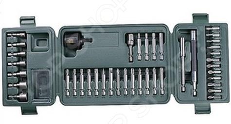 Набор насадок для шуруповерта Kraftool 26154-H42 кобура для шуруповерта с карманом для бит и сверл matrix 90243