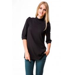 фото Блузка Mondigo 5049. Цвет: черный. Размер одежды: 48