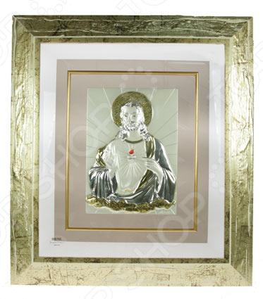 Картина Brunel «Иисус Христос» 59798Картины. Панно<br>Картина Brunel Иисус Христос 59798 это оригинальный и стильный аксессуар, который станет украшением вашего интерьера. Картины, постеры или настенные композиции являются классическим приемом декорирования комнат или коридоров. Размещенные в нужных местах, они могут помочь расставить акценты или подчеркнуть некоторые элементы внутреннего убранства. Модель с серебряным покрытием украсит комнату, добавит изысканности и шарма, а также подчеркнет утонченный вкус хозяина дома. Такой элемент декора не останется незамеченным гостями и станет отличным решением для любого помещения. Картина Brunel Иисус Христос 59798 может стать замечательным подарком или сувениром для ваших друзей и близких. Правила ухода: регулярно вытирать пыль сухой, мягкой тканью.<br>