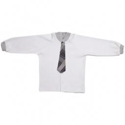 фото Кофточка для новорожденных с галстуком Ёмаё. Размер: 48