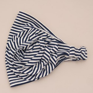Купить Повязка детская ЧУДО-КРОХА «Морская» ЯВ105432. Цвет: синий, белый
