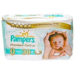 Купить Подгузники PAMPERS Premium Care Newborn Средняя упаковка