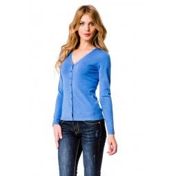фото Жакет Mondigo 9130. Цвет: джинсовый. Размер одежды: 44