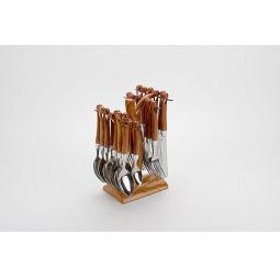 фото Набор столовых приборов на подставке Mayer&Boch MB-20006