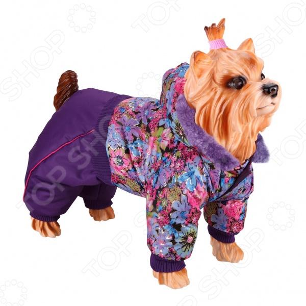 Комбинезон для собак DEZZIE 563569 триол комбинезон зимний микки для собак trio l