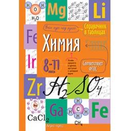 фото Справочник в таблицах. Химия. 8-11 класс