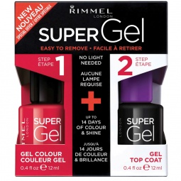 фото Лак для ногтей Rimmel Super Gel. Тон: 041