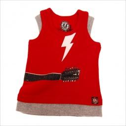 фото Майка детская с аппликацией Mini Shatsu Lightning Guitar