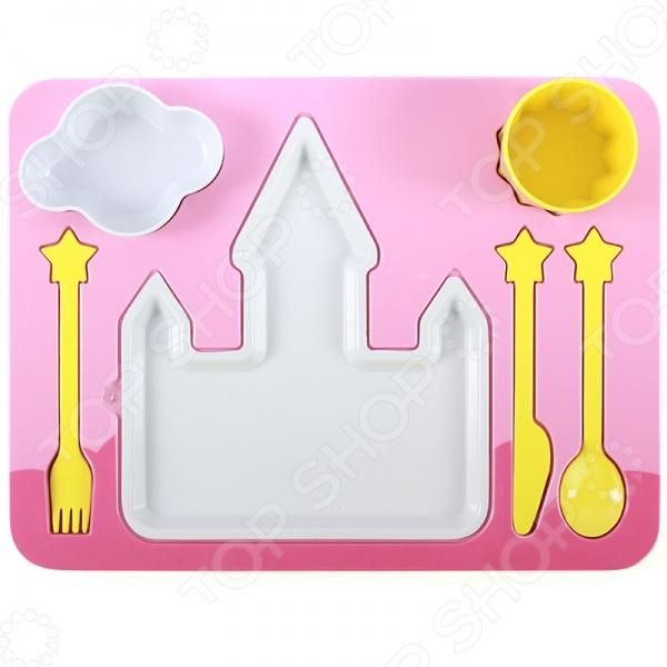 Поднос-сервиз для ребенка Doiy Princess
