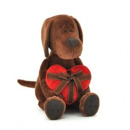 фото Мягкая игрушка Orange «Пес Барбоська с сердцем»