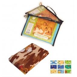 Купить Полотенце-простыня банное вафельное Банные штучки цветное с рисунком. В ассортименте