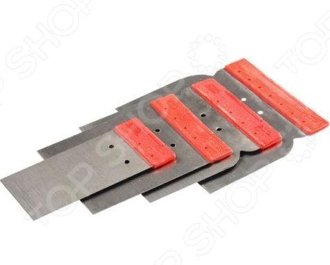 Набор шпателей Stayer Profi «Япончик» 1011-H4 тонкогубцы для зачистки проводов stayer profi 22027 3 16 z01
