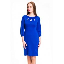 фото Платье Mondigo 5196. Цвет: синий. Размер одежды: 48