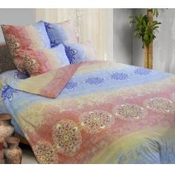 фото Комплект постельного белья Сова и Жаворонок «Монако» 19083. 1,5-спальный