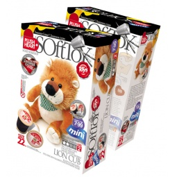 Купить Набор для изготовления мягкой игрушки Plush Heart Львенок