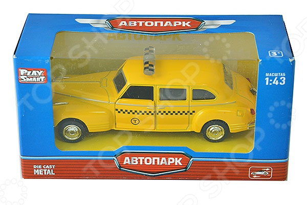 Машинка инерционная PlaySmart Р41143 инерционная машинка best toys машина желтый