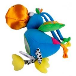 фото Мягкая игрушка со звуковыми эффектами Жирафики 93522 «Попугай»