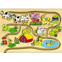 Купить Игра настольная Step Puzzle «Веселый лабиринт. Что к чему»