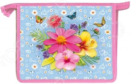 Папка для тетрадей Проф-Пресс «Яркие цветочки»