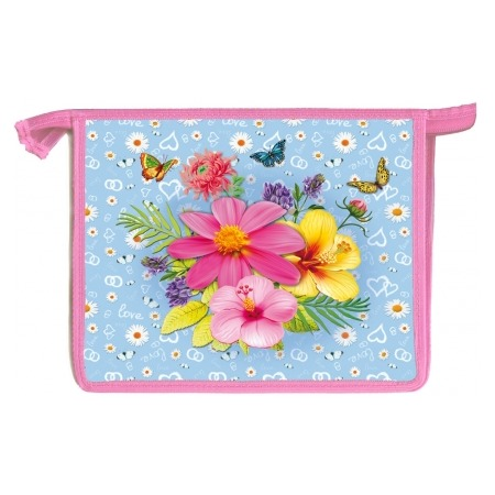 Купить Папка для тетрадей Проф-Пресс «Яркие цветочки»