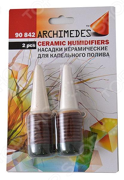 Фото - Насадки керамические для капельного полива Archimedes 90842 набор капельного полива урожай 1 от 62 до 100м2