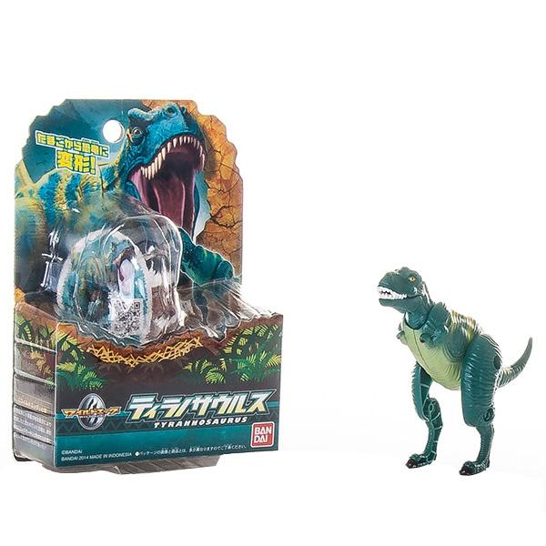 Яйцо-трансформер EggStars «Тираннозавр»Другие виды конструкторов<br>Яйцо-трансформер EggStars Тираннозавр трансформирующаяся игрушка компактных размеров. Из яйца она превращается в свирепого хищника, с подвижными лапами, челюстью и шеей. Детализированная фигурка в зеленом цвете понравится каждому ребенку и позволит придумать множество интересных сюжетов для игры. Такая игрушка станет прекрасным подарком для юных поклонников доисторического мира.<br>
