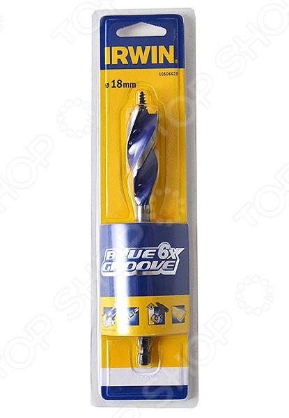 Сверло по дереву IRWIN BLUE GROOVE 6