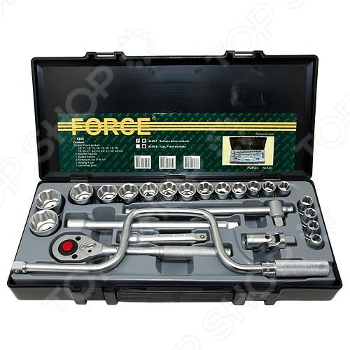 Набор с торцевыми головками Force F-4245