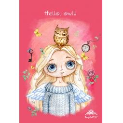 фото Ангел. Hello, owl!