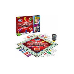 фото Настольная игра Hasbro Монополия с банковскими карточками