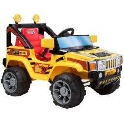 фото Электромобиль для малыша Пламенный Мотор «Джип». Цвет: желтый