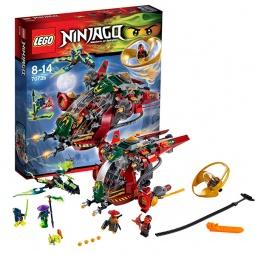 фото Конструктор игровой LEGO «Вертолет R.E.X Ронана»