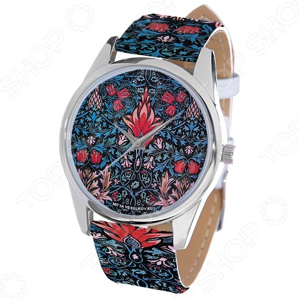 Часы наручные Mitya Veselkov «Тюльпановый принт» ART цена и фото